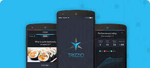 Trizzio touch mobile app - Appiness Interactive