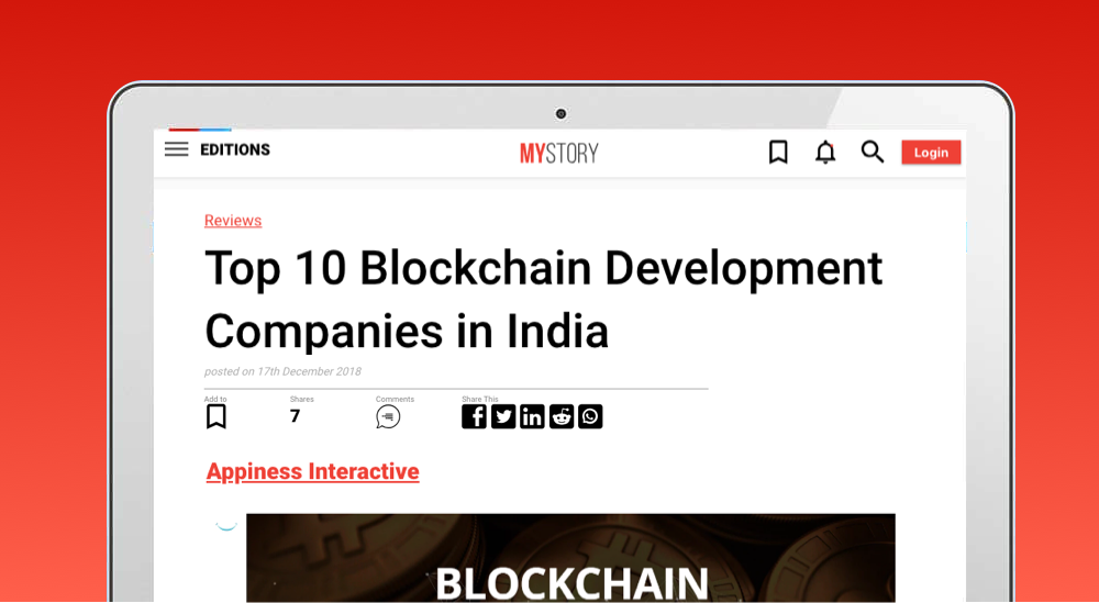 blockchain devlepment company in india